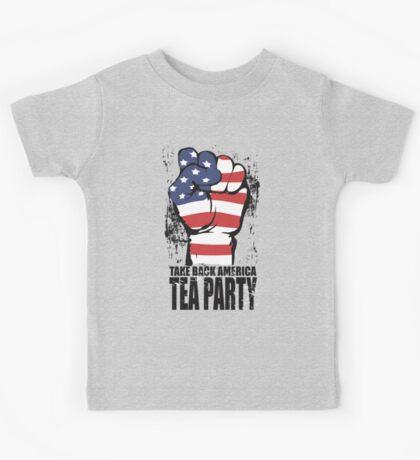 Take Back America Tea Party Shirt Kids Tee