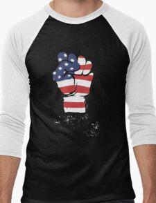 Take Back America Tea Party Shirt Men's Baseball ¾ T-Shirt