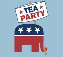 Tea Party Republican Shirt Kids Clothes