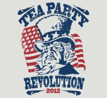 Tea Party Revolution Shirt by RepublicanShirt