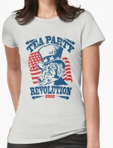 Tea Party Revolution Shirt Womens Fitted T-Shirt