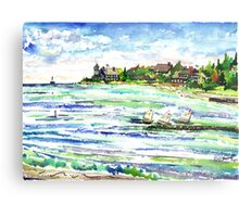 The Point @ New Silver Beach Metal Print