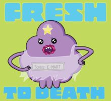 Fresh to Death Sticker