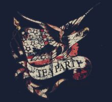 Tea Party T Shirt Kids Tee