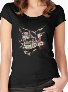 Tea Party T Shirt Women's Fitted Scoop T-Shirt