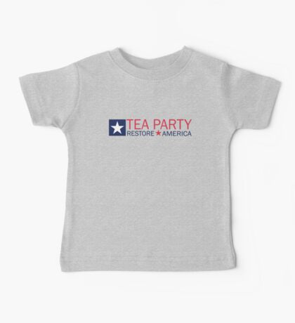 Tea Party Movement Shirt Baby Tee
