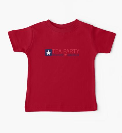 Tea Party Movement Shirt Baby Tee