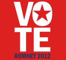 Vote Romney 2012 by RepublicanShirt