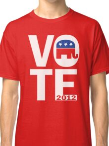 Vote Republican 2012 Classic T-Shirt