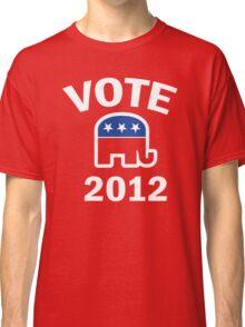 Retro Republican 2012 Shirt Classic T-Shirt