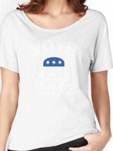 Retro Republican 2012 Shirt Women's Relaxed Fit T-Shirt