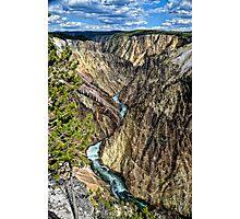 Grand Canyon of Yellowstone NP Photographic Print