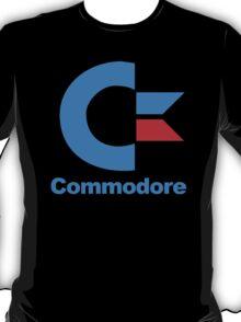 für Gamer COMMODORE computer logo retro cool fun T-Shirt