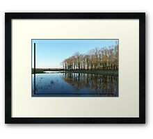 The Earth beneath my feet Framed Print