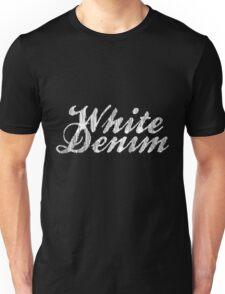 White Denim, White Ink Unisex T-Shirt