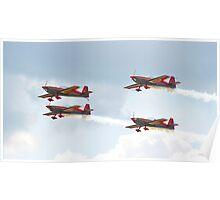 Royal Jordanian Falcons - RAF Waddington Airshow 2011 Poster