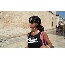 Lily in Dubrovnik - 1 Photographic Print