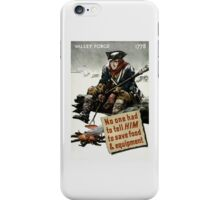Valley Forge Soldier -- WW2 Propaganda iPhone Case/Skin