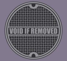 Void if Removed Kids Tee