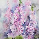 Foxgloves by artbyrachel