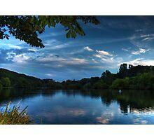 Blue Dawn Photographic Print
