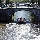 Amsterdam: Under the Bridges by Kasia-D