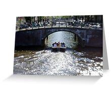 Amsterdam: Under the Bridges Greeting Card