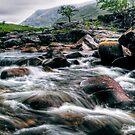 Rushing River, Glen Etive by Aj Finan