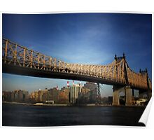 Ed Koch Queensboro Bridge - New York City Poster