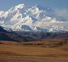 Mount McKinley in Autumn by Tim Grams