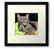 Determined Framed Print