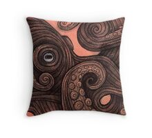 The Octopus Throw Pillow