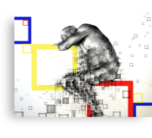 A Dying Outdated Software Canvas Print