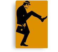 Silly Walk T-Shirt Monty Python Inspired, funny,Small to 2XL different colours Canvas Print