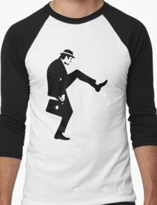 Silly Walk T-Shirt Monty Python Inspired, funny,Small to 2XL different colours Men's Baseball ¾ T-Shirt