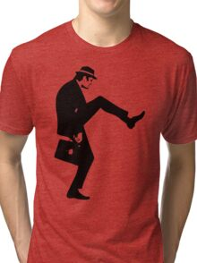 Silly Walk T-Shirt Monty Python Inspired, funny,Small to 2XL different colours Tri-blend T-Shirt