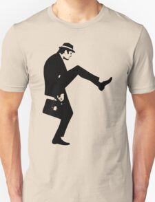 Silly Walk T-Shirt Monty Python Inspired, funny,Small to 2XL different colours Unisex T-Shirt