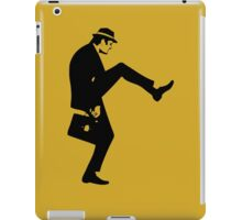 Silly Walk T-Shirt Monty Python Inspired, funny,Small to 2XL different colours iPad Case/Skin
