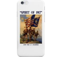 Join The US Marines -- Spirit Of 1917 iPhone Case/Skin