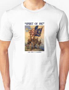 Join The US Marines -- Spirit Of 1917 Unisex T-Shirt