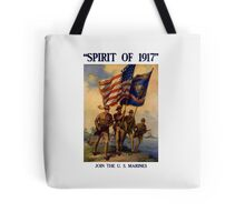Join The US Marines -- Spirit Of 1917 Tote Bag
