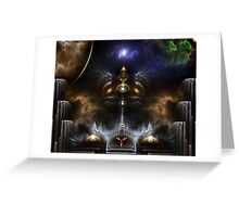 The Golden City Of Akala Greeting Card
