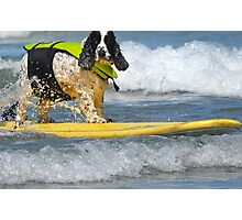 Ride the Wild Surf Photographic Print