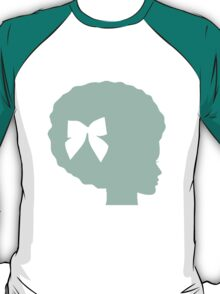 Louie Girl in Gum Leaf T-Shirt
