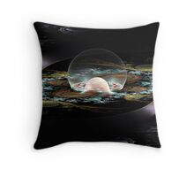 Surrealistic Rise Throw Pillow