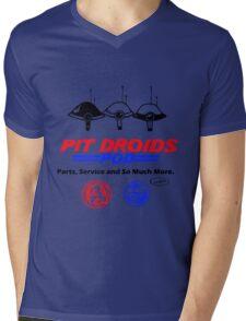 Pit Droids Pod services Mens V-Neck T-Shirt
