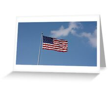 Freedom in the Wind Greeting Card