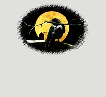 Full Moon Shining ~ Black Crow Unisex T-Shirt