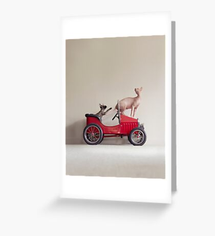 Rush Hour Greeting Card