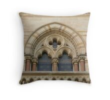 Window detail, Bonython Hall, Adelaide Throw Pillow